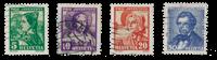 Schweiz 1935 - Michel 287/90 - Stemplet