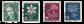 Schweiz 1946 - Michel 475/78 - Stemplet