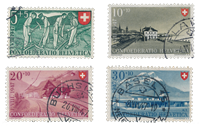 Switzerland 1947 - Michel 480/83 - Cancelled