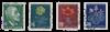 Schweiz 1947 - Michel 488/91 - Stemplet