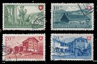 Switzerland 1948 - Michel 508/11 - Cancelled