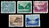 Schweiz 1956 - Michel 627/31 - Stemplet