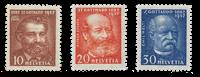 Switzerland 1932 - Michel 259/61 - Mint