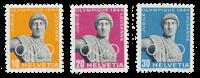 Switzerland 1944 - Michel 428/30 - Mint