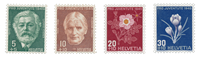 Switzerland 1945 - Michel 465/68 - Mint