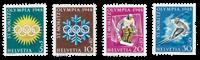 Switzerland 1948 - Michel 492/95 - Mint
