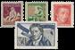 Schweiz 1927 - Michel 222/25 - Ubrugt