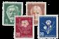 Schweiz 1945 - Michel 465/68 - Postfrisk