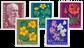 Schweiz 1959 - Michel 687/91 - Postfrisk