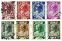 Belgium 1937 - OBP 458-65 - Cancelled