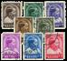 Belgien 1936 - OBP 438-45 - Stemplet