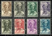 Belgium 1935 - OBP 411-18 - Cancelled