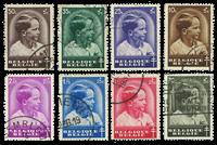 Belgium 1936 - OBP 438-45 - Cancelled