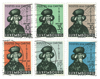 Luxembourg 1938 - Cancelled - Michel 315-20