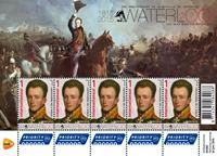 Holland - Slaget om Waterloo - Postfrisk miniark