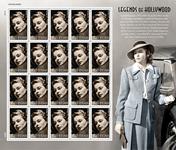 USA - Ingrid Bergman - Postfrisk ark