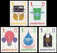 Holland - Videnskabens mirakler - Postfrisk sæt 5v