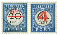 Netherlands 1906 - NVPH P29-P30 - Cancelled