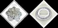 Åland - Sølvsmykker - Postfrisk sæt 2v