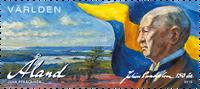 Åland - Julius Sundblom - Postfrisk frimærke