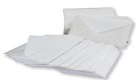 100 luksus pergamyn kuverter 7,5X11,5 CM