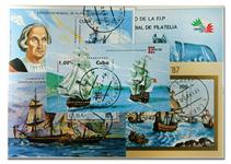 Cuba sømænd 10 miniark
