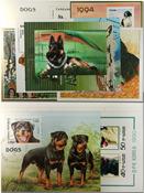 Dogs 10 souvenir sheets