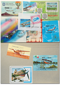Planes 10 souvenir sheets