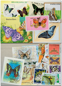 Butterflies 10 souvenir sheets