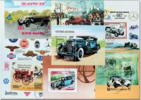Oldtimer 7 souvenir sheets