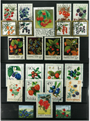 Wild berries 28 different stamps