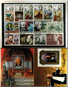 Komponister 2 miniark, 1 sæt og 15 frimærker