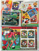 FIFA World Cup 1982 - 7 souvenir sheets and 3 sets