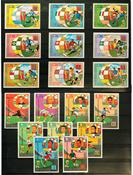 Fodbold-frimærker - 10 sæt