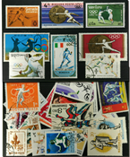 Fencing 31 different stamps