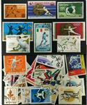 Fægtning 13 forskellige frimærker