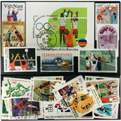 Volleyball 1 souvenir sheet and 24 stamps