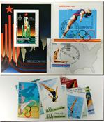 3 miniark og 10 frimærker udspring