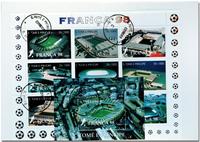 Fodbold St. Tome 1998 1 småark og 1 miniark