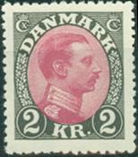 Danmark - Bogtryk 2 kr. Chr. X - Postfrisk