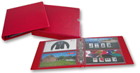 Leuchtturm album for souvenir packs with slipcase and 5 sheets