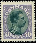 Denmark 1918 -AFA no. 105A -  Mint