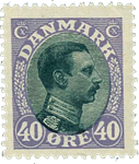 Danmark 1918 - AFA nr. 105A - Postfrisk