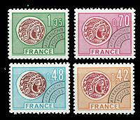France - YT 134-137 - Precancelled