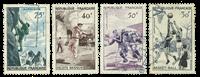 France 1956 - YT 1072-75 - Cancelled
