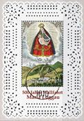 Austria - Maria Luggau - Cancelled souvenir sheet