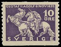 Sverige Facit 234a 1932 Kong Gustaf II Adolfs død v/Lützen