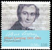 Tyskland - Albert Lortzing - Postfrisk frimærke