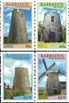 Barbados - Vindmøller - Postfrisk sæt 4v