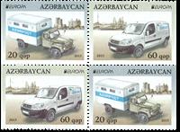 Azerbaijan - Europa 2013 - Mint set from booklet